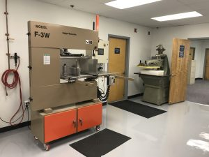 Bandsaw and Die Cutting Press